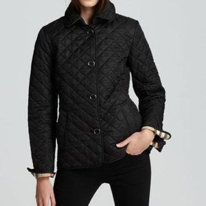 BURBERRY NOVA CHECK LINED COPFORD QUILTED JACKET